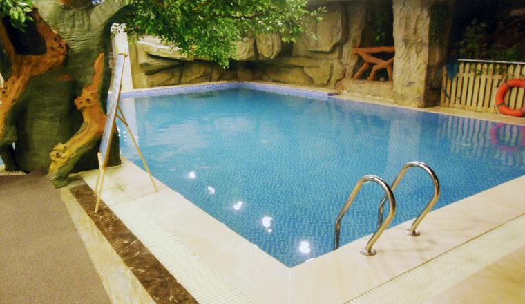 西安天目温泉假日酒店游泳池